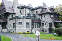 GP fall cruise at the Oliver house (2)