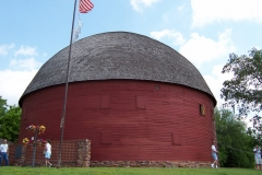 Round barn on OK