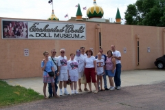 Group on our way to visit the Corn Palace in Mitchell,SD We gained another car in Sioux Falls,SD for a few days.