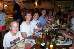 Dinner time at Wall Drug