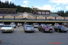 Silver Dollar Bar , Interstate 90 exit 16. Good place for a potty stop