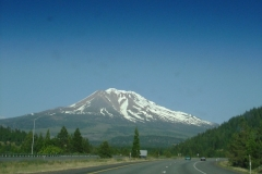 Mount Rainer was impressive from a long ways away.