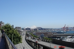 View from the Fish Market in Seatle was impressive too.