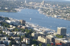 View from the Space needle, we have had lots of impressive views lately.