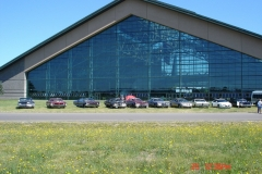 This is the Evergreen Aviation & Space Museum is located 3.5 miles southeast of McMinnville, Oregon. This is the home of the original Spruce Goose a massive airplane built entirely of wood due to wartime restrictions on metals.
