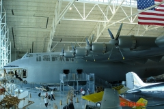 This is the Spruce Goose, hard to believe it could fly.