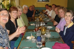 Dinner at Coos Bay, OR our overnight stop.