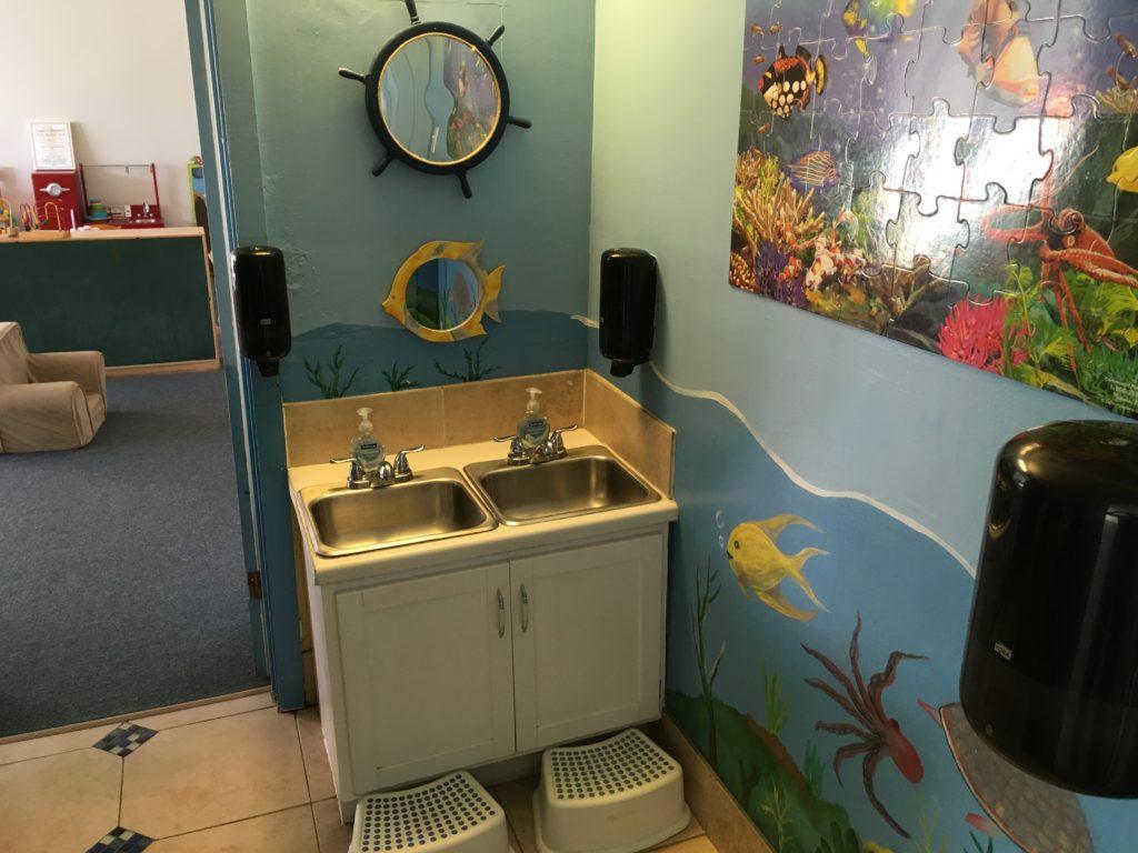 Nautical restroom