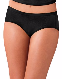 Women's Cotton Stretch Hipster Panties with ComfortSoft® Waistband