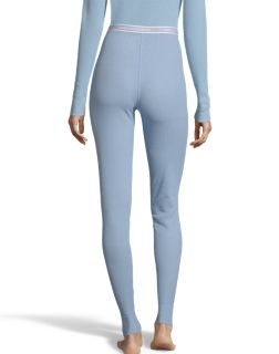 Hanes Women/'s Solid Color 4-Way Stretch Thermal Pant