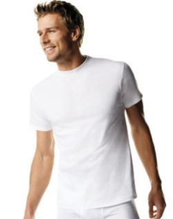 mens white undershirts