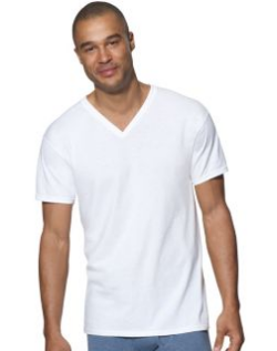 v neck undershirt