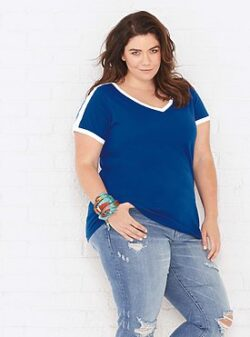 plus size women's t shirts