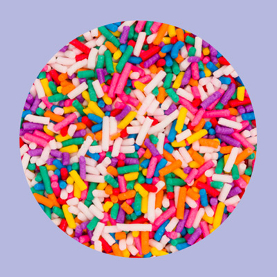 Topper's Craft Creamery Rainbow Sprinkles