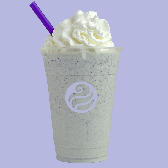 Toppers mint chocolate shake