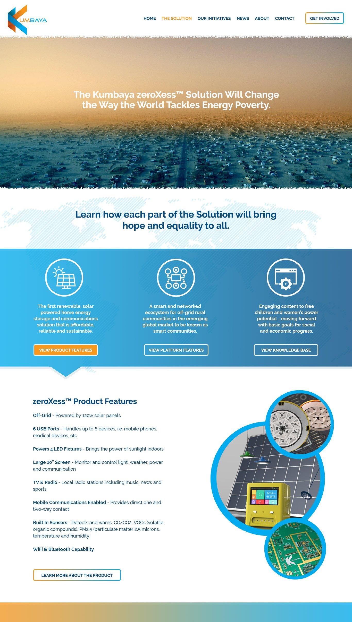 Kumbaya Product Page