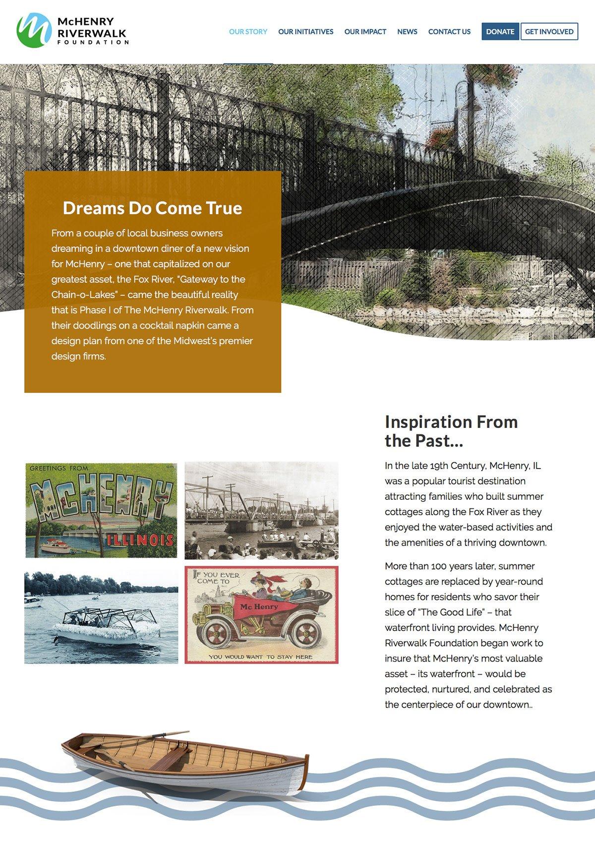 McHenry Riverwalk Foundation Story Page