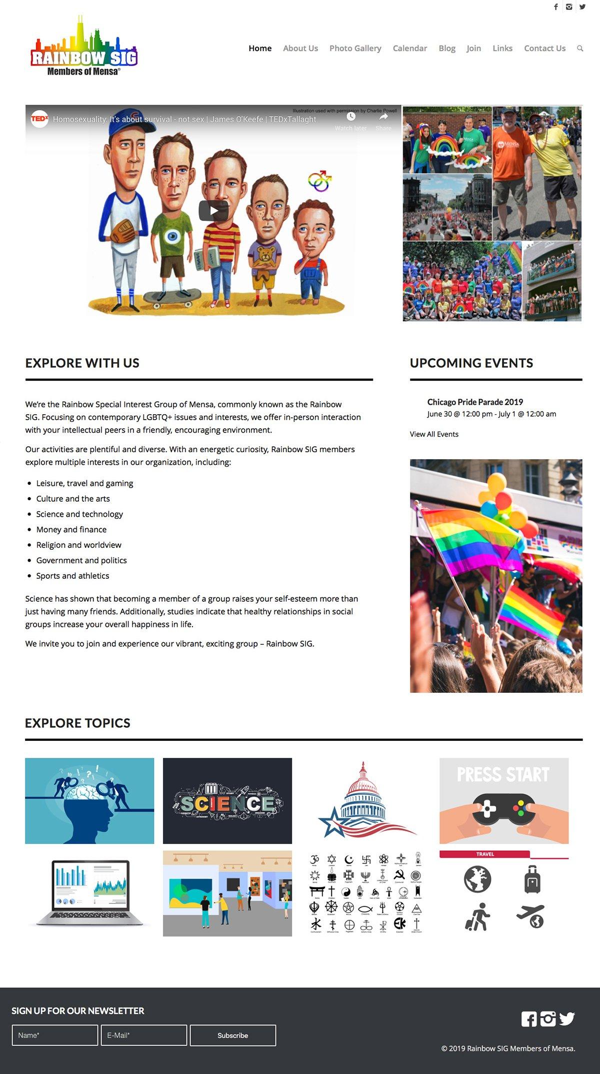 Rainbow SIG Home Page