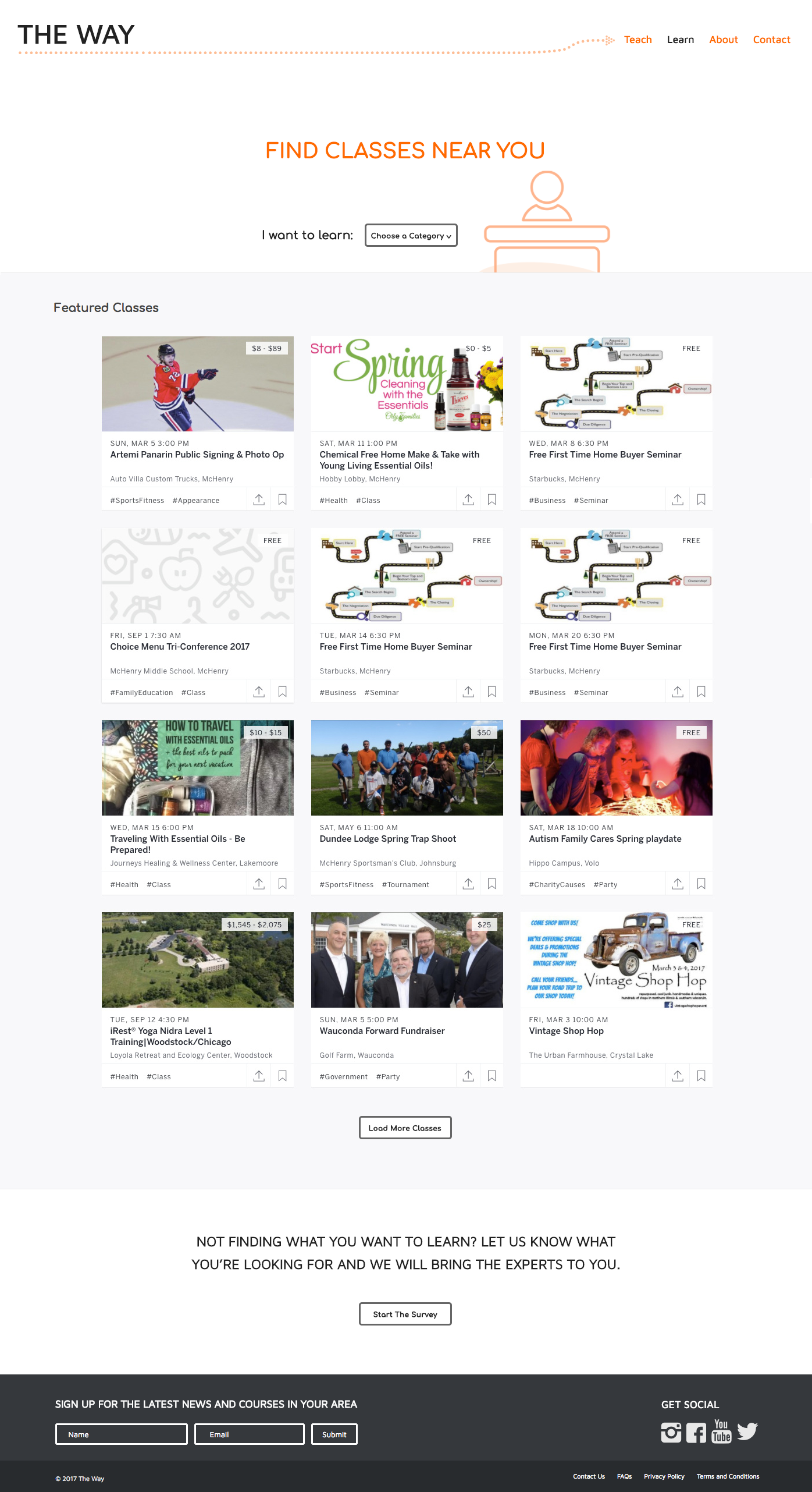 The Way Learn Page