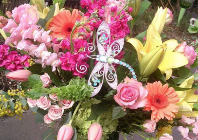 DragonFly Flower Bouquet The Flower Diva Charlotte NC