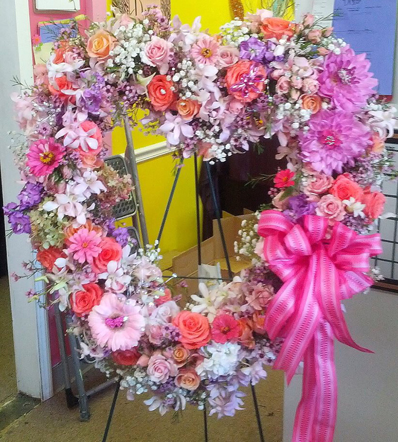 Sympanthy Heart Wreath