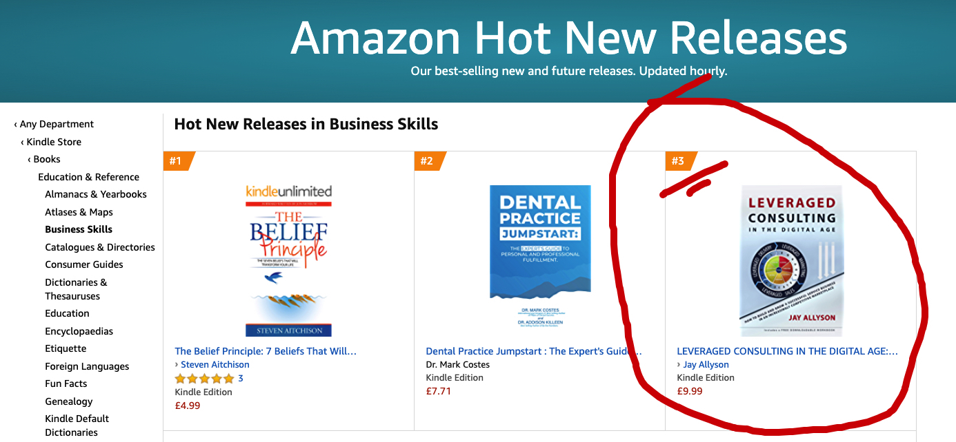 leveraged consulting jay allyson HOT NEW RELEASES