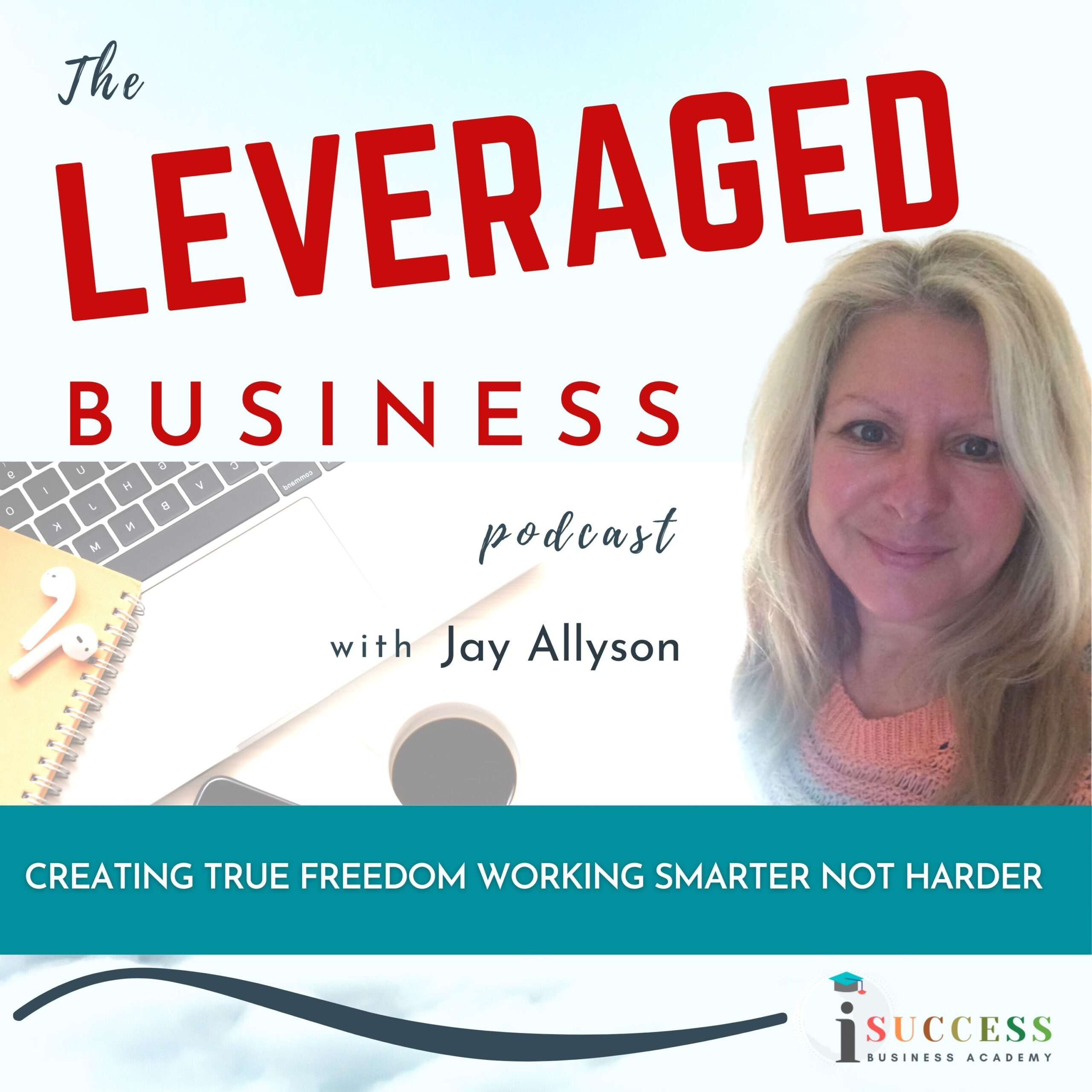 the leveraged business podcast cover image
