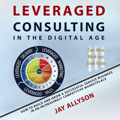 leveraged consulting in the digital age audiobook cover
