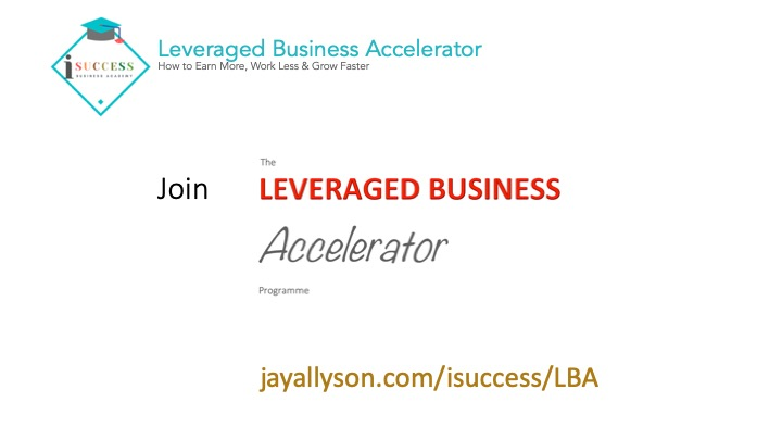 Find out more isuccess leveraged business accelerator program