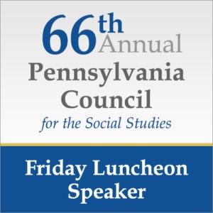 Friday Luncheon Speaker