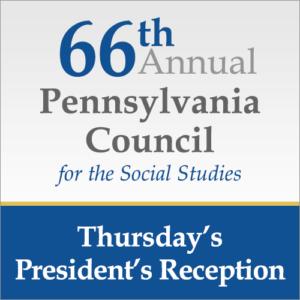 Thursday's President's Reception