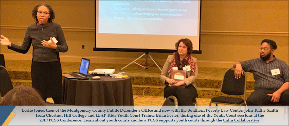 Leslie Jones at 2019 PCSS Conference