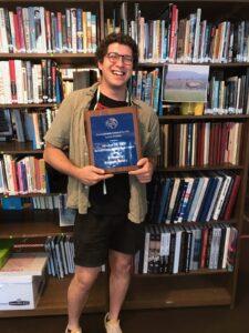 Benty Awarded PCSS Rendell Friend of Social Studies Award