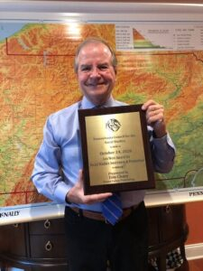 Thomas Cleary Honored With PCSS Leo West Award