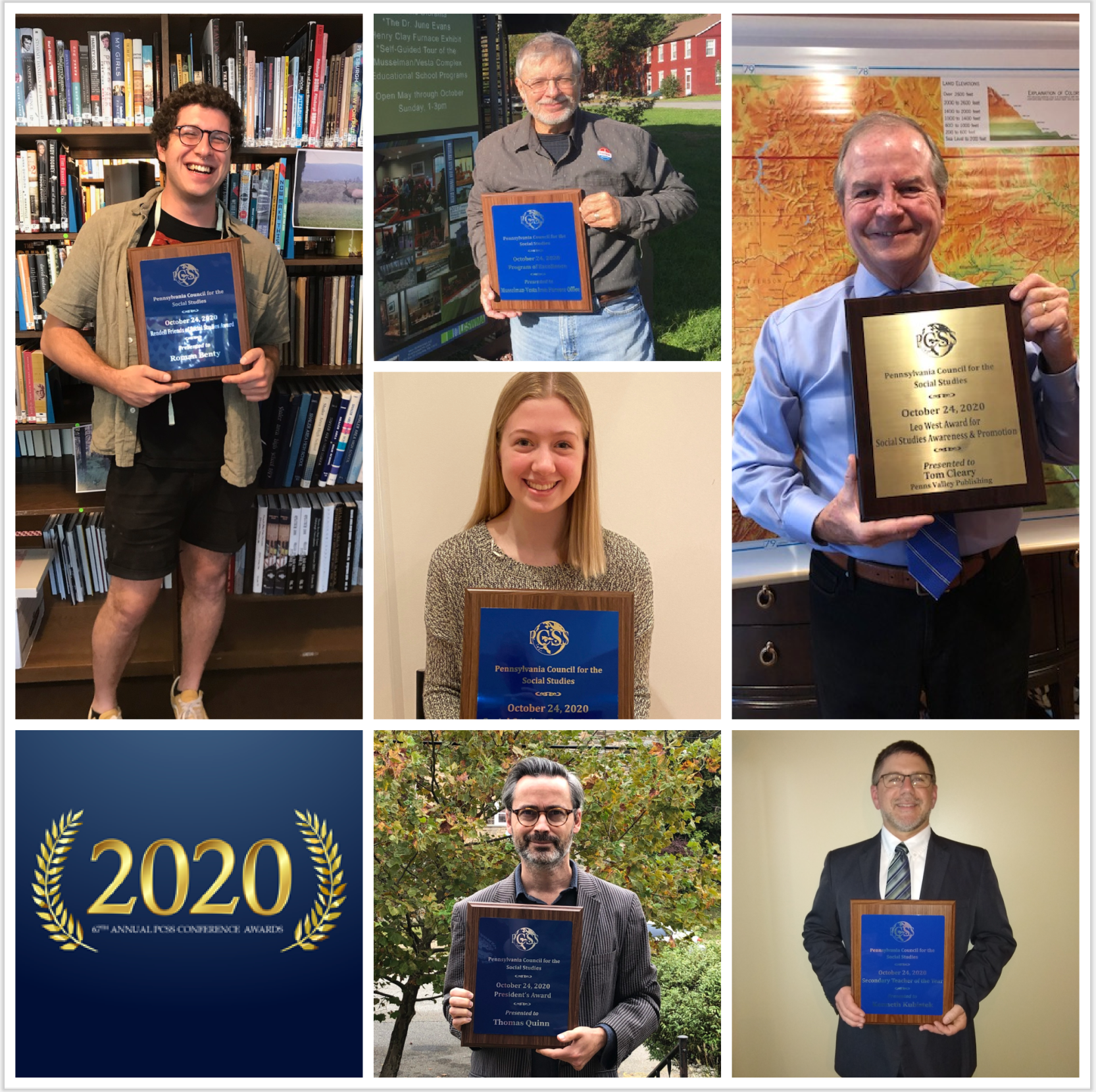 2020 PCSS Conference Award Winners