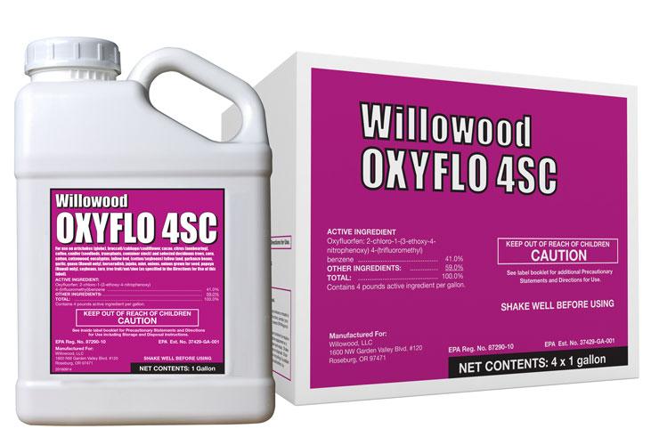 OXYFLO 4SC Box and Jug