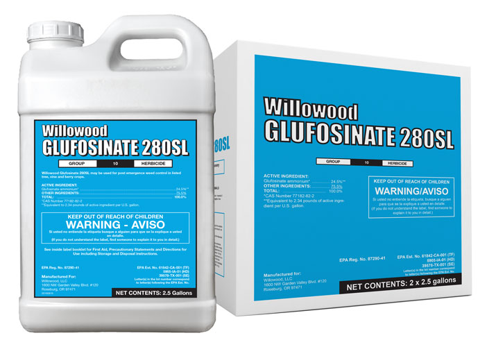 GLUFOSINATE 280SL Box and Jug