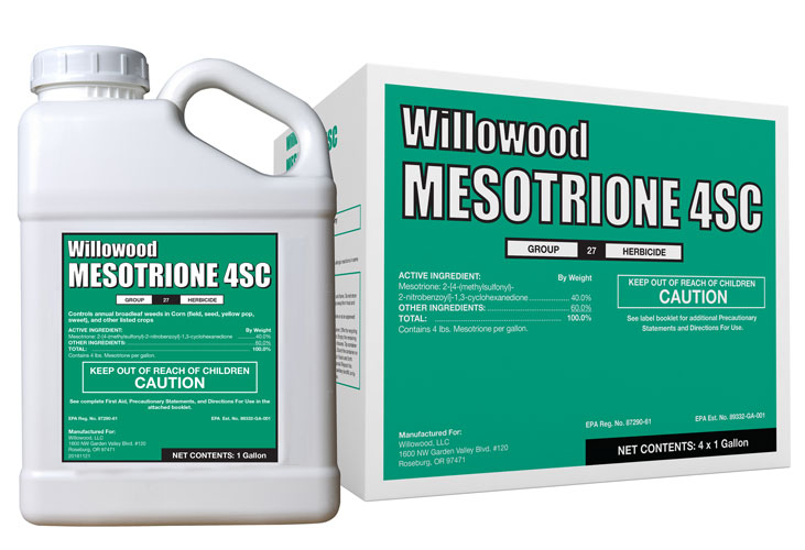 MESOTRIONE 4SC Box and Jug