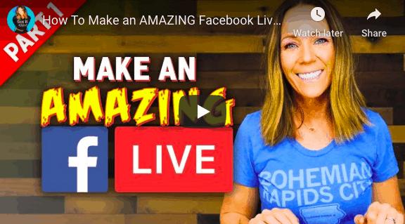 make a great facebook live