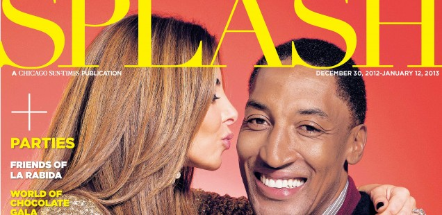 Splash: Scottie and Larsa Pippen