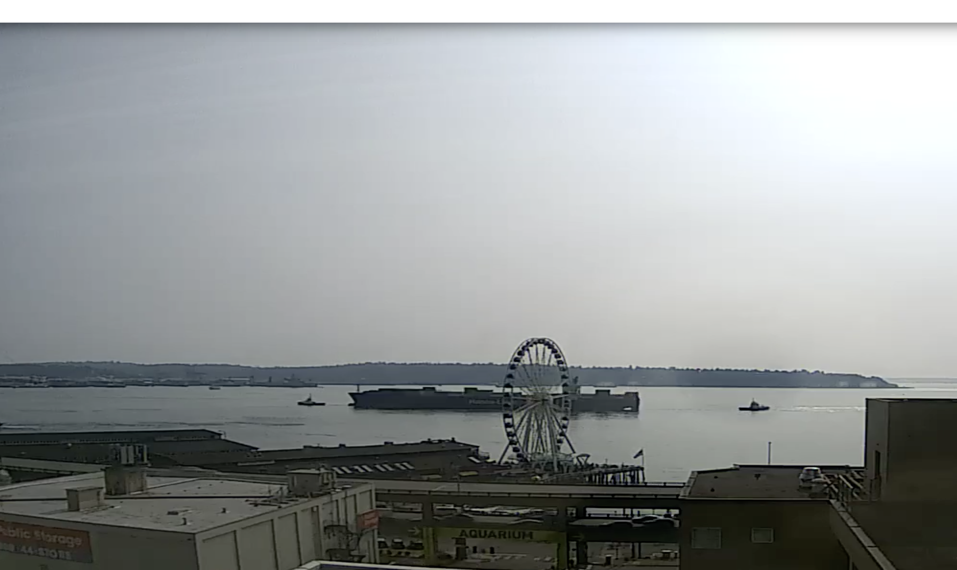 Seattle Waterfront Webcam