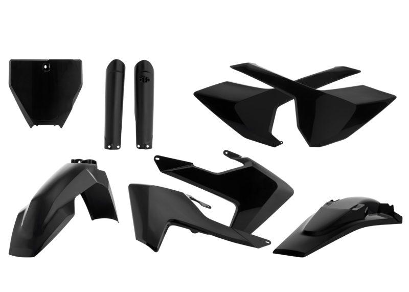 Acerbis Full Plastic Kit Black for Husqvarna TC 250 2014