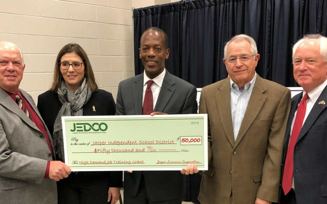 JEDCO Teams with TWC in Education Grant
