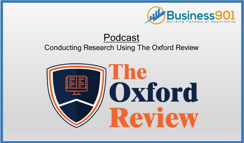 Using The Oxford Review