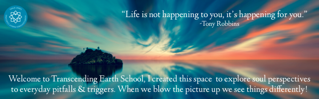 Transcending Earth School, Transform your life from the inside out