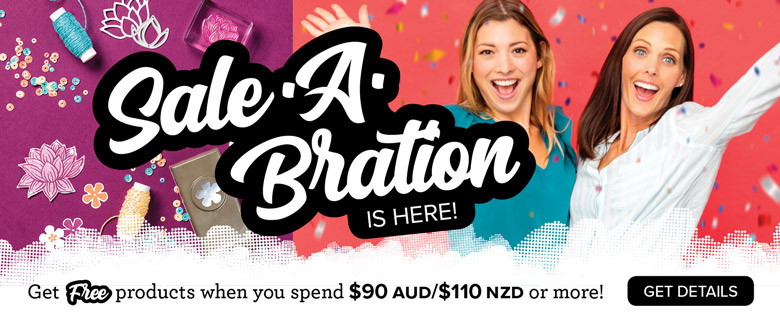 Sale-A-Bration is here!!