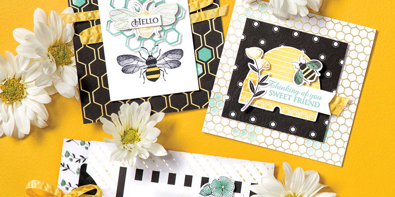Bee-autiful! Honey Bee by Stampin'UP!