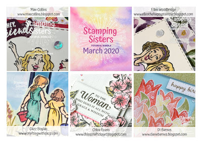 Stamping Sisters March Tutorial Bundle!