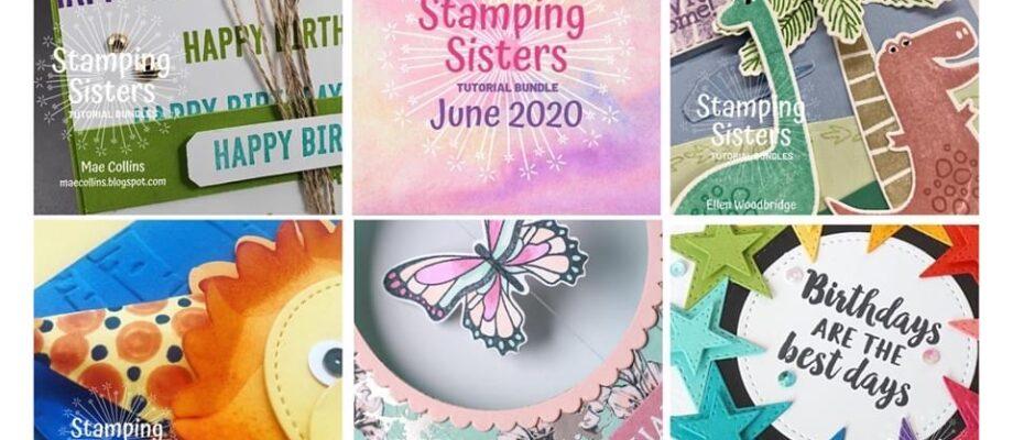 Stamping Sisters June Tutorial Bundle!