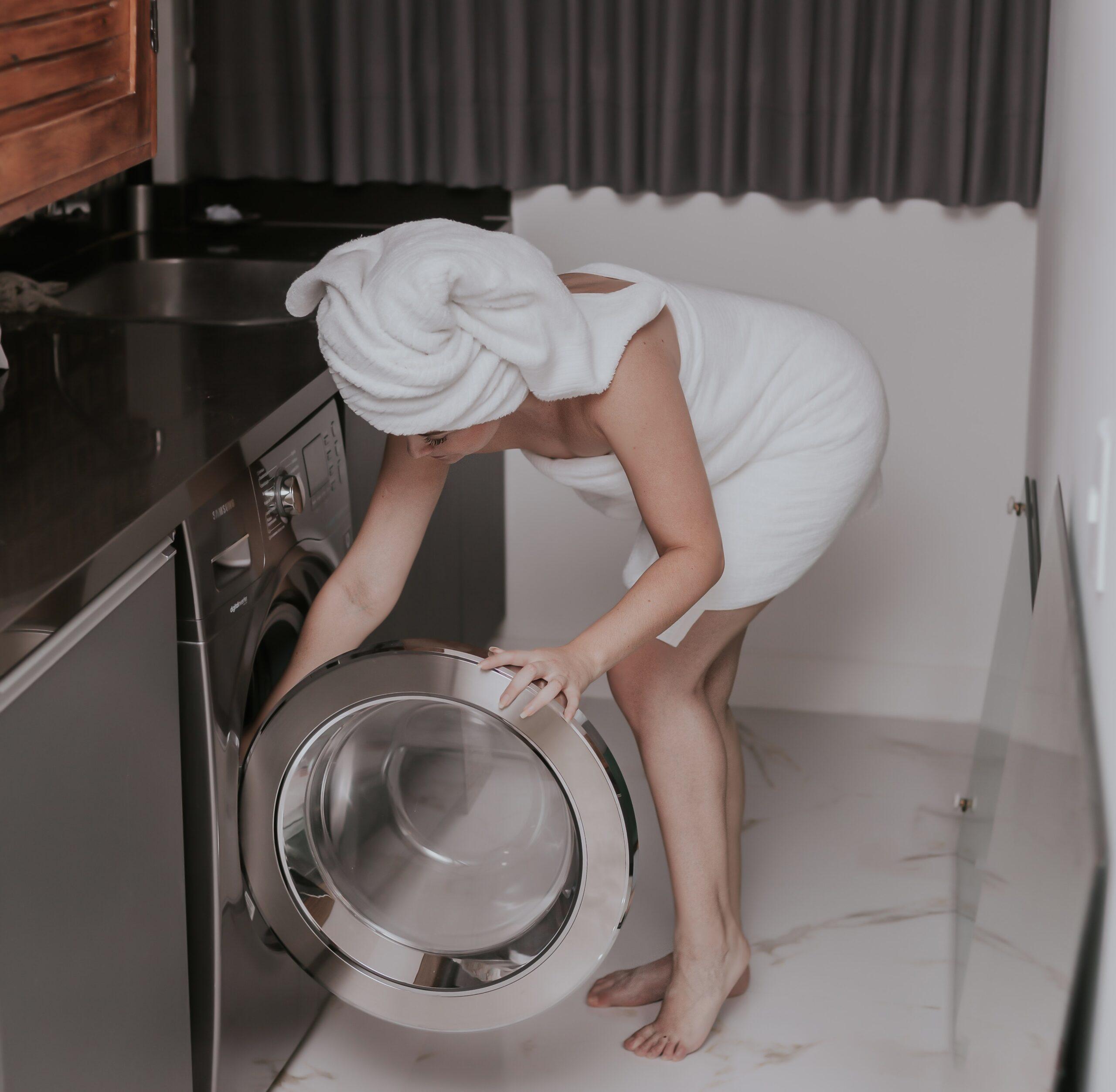How to Wash Bath Towels